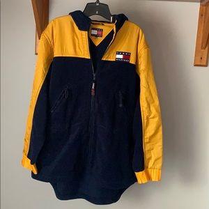 Vintage 90s Tommy Hilfiger Fleece Jacket